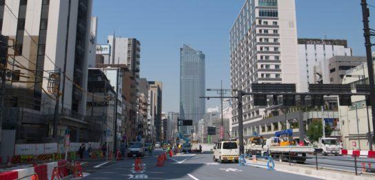 環状二号線 新橋-虎ノ門間