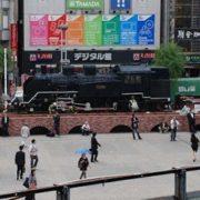 新橋SL広場の機関車