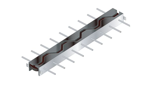 橋梁用伸縮装置「ハイブリッドジョイント」CFタイプ(NEXCO仕様)